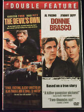 The Devil's Own / Donnie Brasco (DVD 2009, 2-Disc Widescreen) R Ford Pitt Pacino