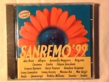 CD Sanremo '99 ANTONELLA RUGGIERO FRANCO BATTIATO NADA STADIO SIGILLATO SEALED!!