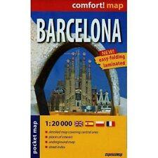 Barcelona r/v (r) wp mini (City Plan Pockets), ExpressMap Polska Sp. z o.o., New