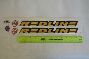 REDLINE FACTORY DECALS  RL 440 GOLD bmx cruiser freestyle VINTAGE NOS