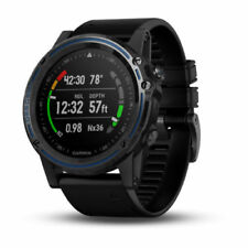 Garmin Descent Mk1 Gps Dive Computer Sapphire Titanium & Black Band 010-01760-02