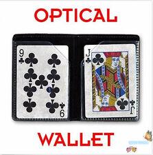 2 pcs/lot OPTICAL WALLET - Card Trick,Close Up,Magic Porps,Fun