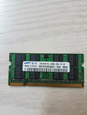 2GB Samsung Notebook RAM DDR2 SO-DIMM 2Rx8 - PC2-5300 M470T5663QZ3-CE6