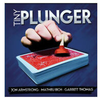 Tiny Plunger (DVD+GIMMICK) - Trick, Metaism,close up,illusion,stage magic/props