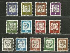 GERMANY Very Fine Mint Stamps Set Scott# 824/839