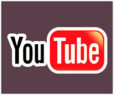 Youtube Sticker The Best Quality Social Media Free Shipping  Nice