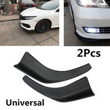 2x Car Splitter Diffuser Front Bumper Lip Deflector Car Fin Chin Tuning Body Kit