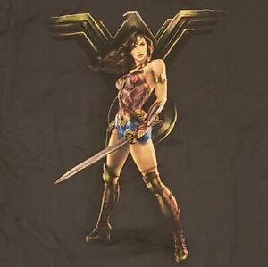 Wonder Woman Logo T-Shirt Gal Gadot DCU DC Comics Superhero Justice League