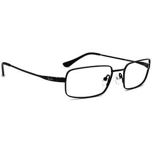Ray-Ban Eyeglasses RB8610 1012 Titanium Black Rectangular Frame 52[]18 140
