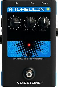 NEW TC-HELICON Singles VoiceTone C1 Vocal effector Processor from Japan
