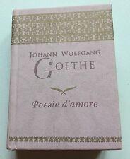 Mini libro Goethe - Poesie d'amore - De Agostini Editore