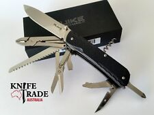 Ruike LD51-B Trecker Folding Multi Tool Pocket Knife G10 Sandvik 12C27 Blade EDC