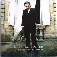 """STEPHAN EICHER - CD SINGLE PROMO """"DIMANCHE EN DÉCEMBRE"""""""