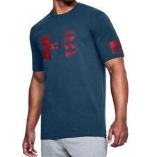 Under Armour * UA Freedom Tonal BFL Tshirt Navy Blue for Men