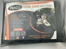 YoGi Prime Dog Car Seat Cover for Large Dogs Heavy Duty Dog Hammock Waterproof