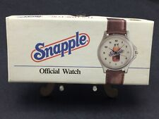 (Vintage New) Snapple Iced Tea Watch With Original Box Model ZC-00337