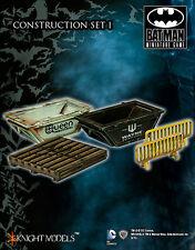 Juego De Batman En Miniatura Mdf terreno & paisaje de construcción Set 2 Gratis Reino Unido P&p