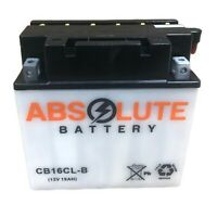 New YB16CL-B Replacement Battery for BRP (Sea-Doo) 1500 All Models 1994-2007