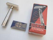 DORKO SOLINGEN Vintage Antiker Rasierer DE Safety Razor 3 Pcs Shaver from NOS!