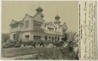 Postcard Hollywood CA Residence Of Paul De Longpre Famous Painter California