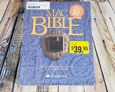 MAC Bible NASB 3 w/ Guide classic study software Christian Zondervan BIG BOX 3.5