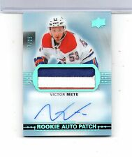 7 count  VICTOR METE  - Montreal Canadiens - 2017-18 Auto Rookies & Rookie cards