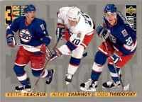 1996-97 3 Star Selection Alexei Zhamnov , Keith Tkachuk , Oleg Tverdovsky #327
