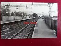 PHOTO  DARKROOM - CHEADLE HULME RAILWAY STATION 1988 -> N PLATFORMS 13 & 4