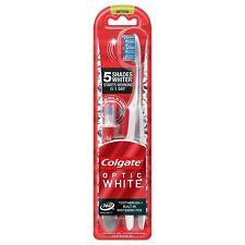 Colgate Optic White Toothbrush and Teeth Whitening Pen, Medium