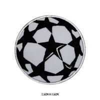 Football Logo Embroidered Iron On Sew On Patch Badge For Clothes etc
