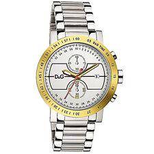 D&G Dolce & Gabbana Herren Uhr XL Armbanduhr Chronograph DW0490 NEU