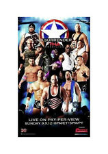 Official TNA Impact Wrestling 38 x 24 inch No Surrender 2012 PPV Poster