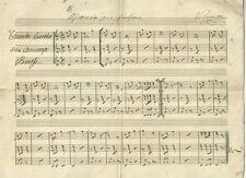 Marcia per Fanfara del Maestro Vanni Spartito Manoscritto Ottocentesco 1880 c.a