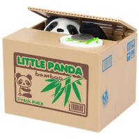 Elektrische Pandabär Pfötchen Spardose | Sparbüchse mit Sound | Kinderspardose