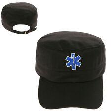 EMS EMT Emergency Medical Services MILITARY CADET ARMY CAP HAT HUNTER CASTRO