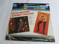 Little Richard Chubby Checker La Grande Storia Del Rock LP 1981 Vinyl Record