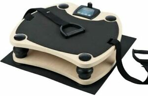VITALMAXX Vibrationstrainer 5 Programme LED-Computer / FERNBEDIENUNG SPORT