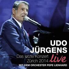 UDO JÜRGENS Das Letzte Konzert Zürich 2014 Live 2CD * NEU