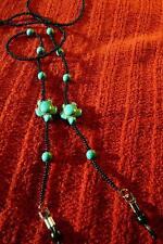 Turtles Turquoise Beaded Eyeglass holder - Native American Indian