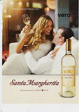 SANTA MARGHERITA alcohol print ad wine pinot clipping page advertisement TERLATO