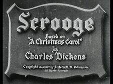 SCROOGE, 1935, classic SEYMOUR HICKS as the best ever Ebenezer: DVD-R:Region 2