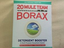 BORAX 20 MULE TEAM LAUNDRY BOOSTER Detergent Sod Tetraborate 8oz
