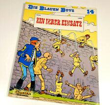 9 x Die blauen Boys 1,2,3,9,11,14,16,18,20 Carlsen Verlag 1988 1. Auflage Z 1-2