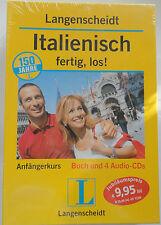 Langenscheidt Italienisch, fertig, los! Buch + 4 Audio-CDs Anfängerkurs NEU 2006