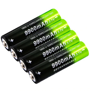 1-10Pcs Battery 37v 9900mah NEW Rechargeable Liion Battery For Power Bank