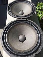 "SWEET 1972 Marantz 841-1019 12"" Woofer Speakers Driver NICE Surrounds ~ 6.0 DCR"