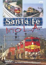 Santa Fe Into L.A. Railroad DVD New Pentrex SF