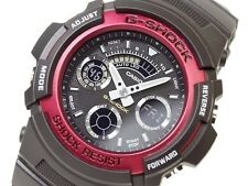 Casio G-Shock AW-591-4A Men Alarm Black Strap Water Resistant Watch AW-591-4ADR