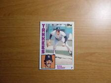 1984 Topps # 110 Ron Guidry New York Yankees