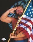 Hacksaw Jim Duggan Signed 8x10 Photo PSA/DNA COA WWE Picture Autograph WCW HOF 2